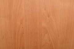 Veneered wooden background Royalty Free Stock Image