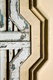 Venegono abstract  window   arrow direction Royalty Free Stock Photos