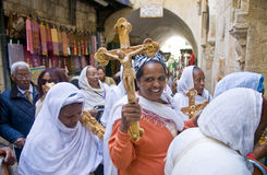 Venerdì Santo etiopico Fotografie Stock
