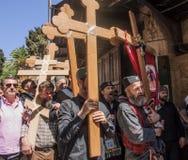 Venerdì santo a Gerusalemme Fotografia Stock Libera da Diritti