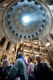 Venerdì Santo alla chiesa del Sepulchre santo Fotografia Stock