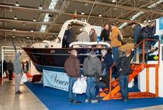 Venere Boats - Boat Show Roma Royalty Free Stock Photo