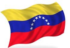 Venesuela-Flagge vektor abbildung