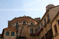 Venetië, apsis van Frari stock afbeelding