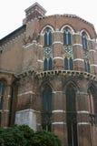 Venetië, apsis van Frari stock fotografie