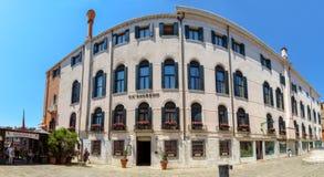 Venetië - Architectuur van oude stad Stock Foto