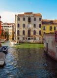 Venetië - Architectuur van oude stad Stock Afbeeldingen