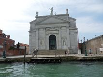 Venetië - Basiliek van de Verlosser royalty-vrije stock fotografie