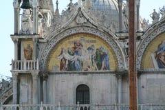 Venetië, Basiliek van San Marco, mozaïek stock foto