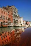 Venetië in bezinning Stock Foto's