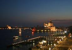 Venetië bij nacht Stock Afbeeldingen