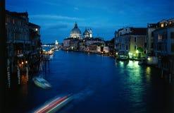 Venetië bij schemer royalty-vrije stock afbeeldingen