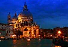 Venetië bij zonsondergang Royalty-vrije Stock Foto