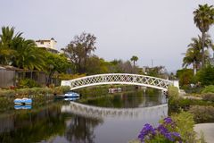 Venetië, Californië Royalty-vrije Stock Afbeelding
