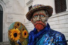 Venetië Carnaval 2016 royalty-vrije stock afbeelding