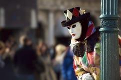 Venetië Carnaval 2010 000099 stock fotografie