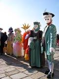 Venetië Carnaval 2010 Stock Fotografie