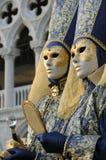 Venetië Carnaval stock foto's