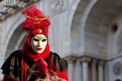 Venetië Carnaval Stock Foto