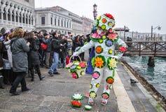 Venetië Carnaval 2009 Stock Afbeeldingen