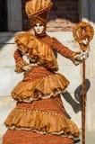 Venetië Carnaval 2009 Stock Foto's