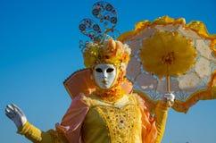 Venetië Carnaval 2009 Stock Foto