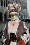 Venetië Carnaval in Italië Stock Afbeeldingen