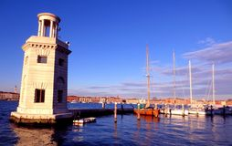 Venetië, de jachthaven royalty-vrije stock afbeeldingen
