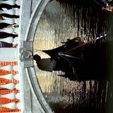 Venetië - de Reeks van de Gondel Royalty-vrije Stock Foto
