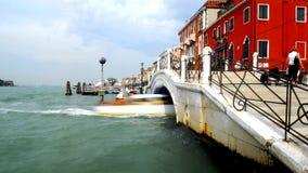 Venetië - de Reeks van het Kanaal Stock Afbeelding