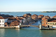 Venetië in de zomer Stock Afbeelding