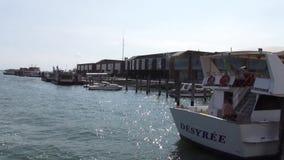 Venetië - een stad op het water stock footage
