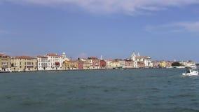 Venetië - een stad op het water stock videobeelden