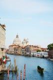 Venetië en Regata Storica Stock Afbeelding