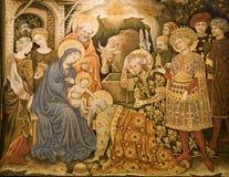Venetië - gobelin ot Drie Magi Royalty-vrije Stock Afbeeldingen
