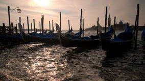 Venetië - Gondel Royalty-vrije Stock Afbeeldingen