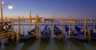 Venetië Gondole stock foto's