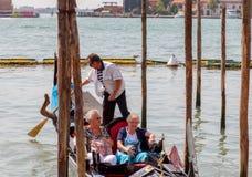 Venetië Groot Kanaal Royalty-vrije Stock Foto's
