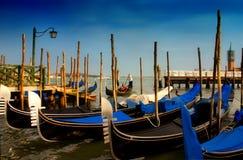 Venetië: Het Eind van een Dag Stock Foto's