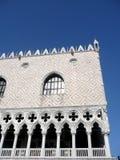 Venetië, het Paleis van de Doge. Venezia, Palazzo Ducale. Stock Afbeeldingen