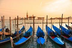 Venetië, Italië. Stock Foto's