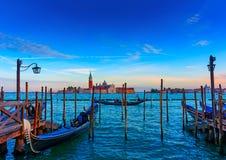 In Venetië Italië Royalty-vrije Stock Afbeeldingen