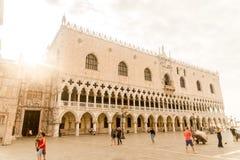 Venetië, Italië bij dageraad royalty-vrije stock fotografie