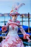Venetië, Italië Carnaval van Venetië Royalty-vrije Stock Fotografie
