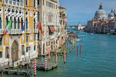 Venetië Italië, Grand Canal Stock Fotografie