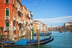 Venetië Italië, Grand Canal Royalty-vrije Stock Afbeelding