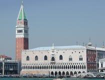 Venetië - Italië - het Paleis van Doges Royalty-vrije Stock Foto's