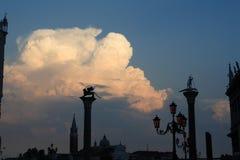 Venetië, Italië, jaar 2008 Stock Afbeeldingen