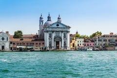 VENETIË, ITALIË: 20 juni, 2017: Santa Maria del Rosario is een Domin Stock Foto