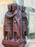 Venetië, Italië - Mei 10, 2014: Het detail van St Mark Basilica Royalty-vrije Stock Afbeelding